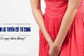 Địa chỉ điều trị viêm lộ tuyến cổ tử cung tốt tại TpHCM